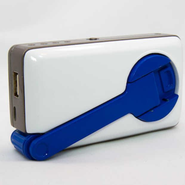 SOScharger - noodstroom voor je smartphone