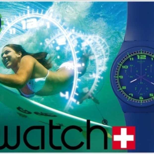 Swatch stopt de tijd op Facebook