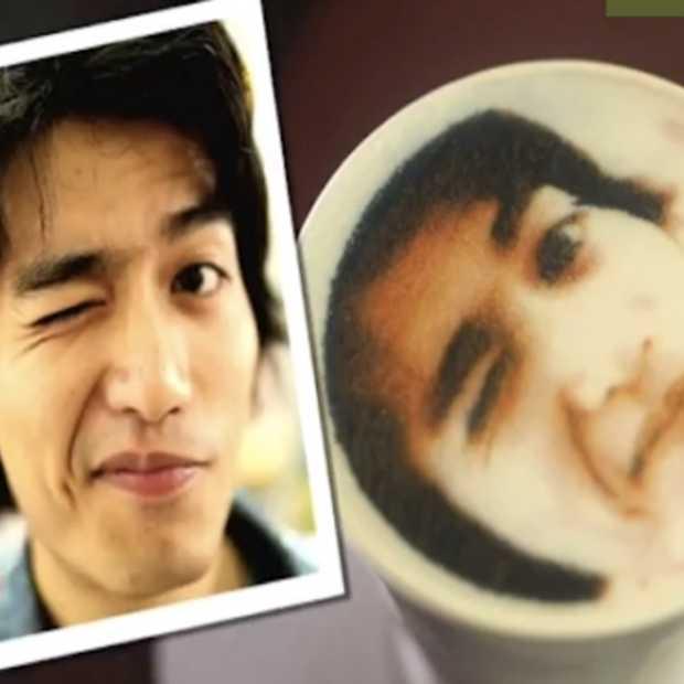 Taiwanese koffieketen Let's Caffe biedt unieke 'customer experience': print je portret op je favoriete 'latte'