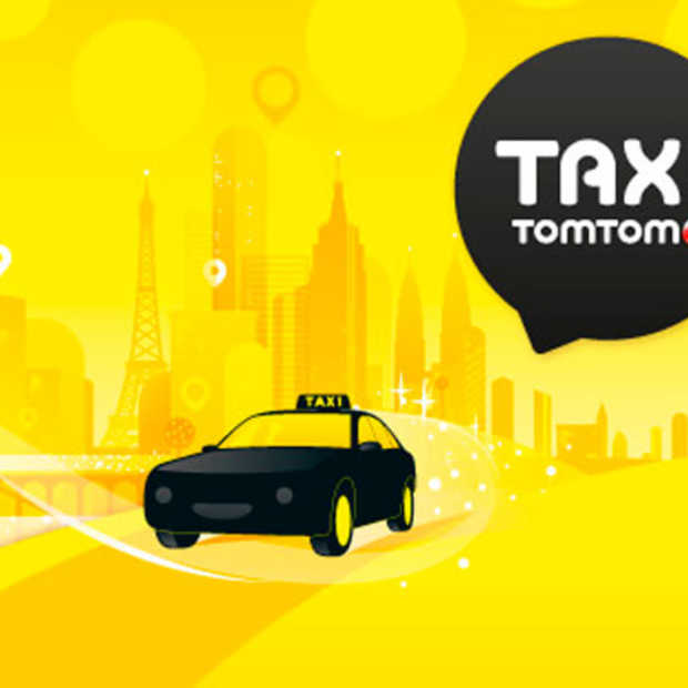 Taxi Booking app van tomtom