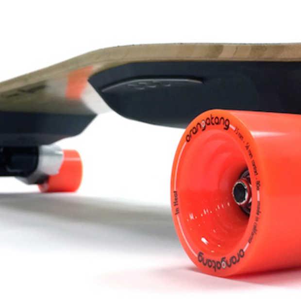 Tegen 32 km/u met een elektrisch skateboard