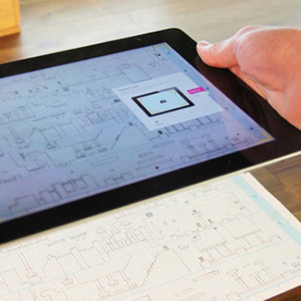 Teken je eigen video game op papier met Pixelpress