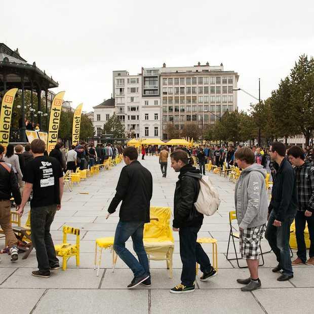 Telenet stunt met iPhone 5 in Gent