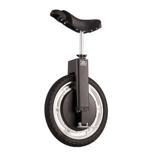 Trendy nieuw transportmiddel: self balancing unicycle
