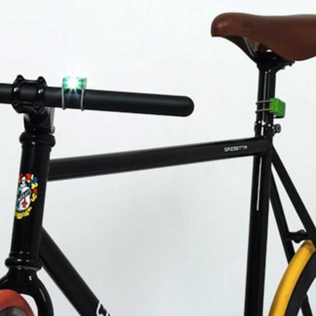 Trendy USB fietslampjes van Bookman