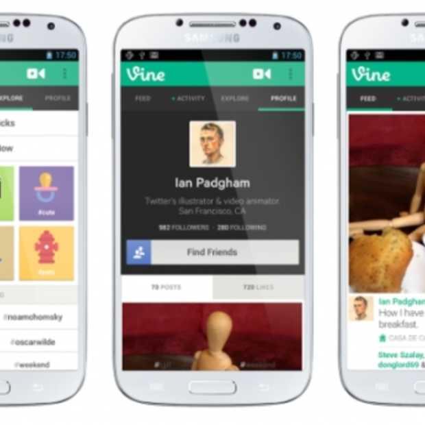 Twitter lanceert vandaag officieel Vine op Android