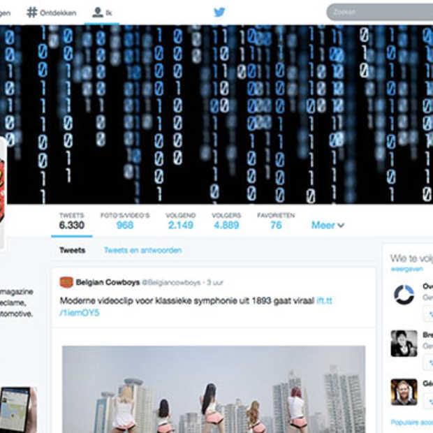 Twitter redesign nu voor iedereen beschikbaar