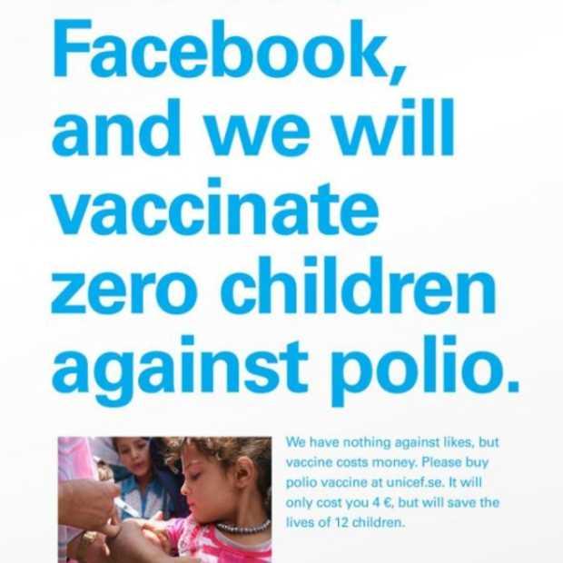 Unicef houdt ons een 'social media' spiegel voor