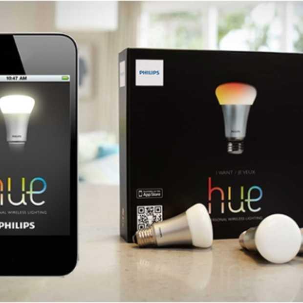 Update app voor 'slimme' Philips Hue-lampen met geofencing & IFTTT