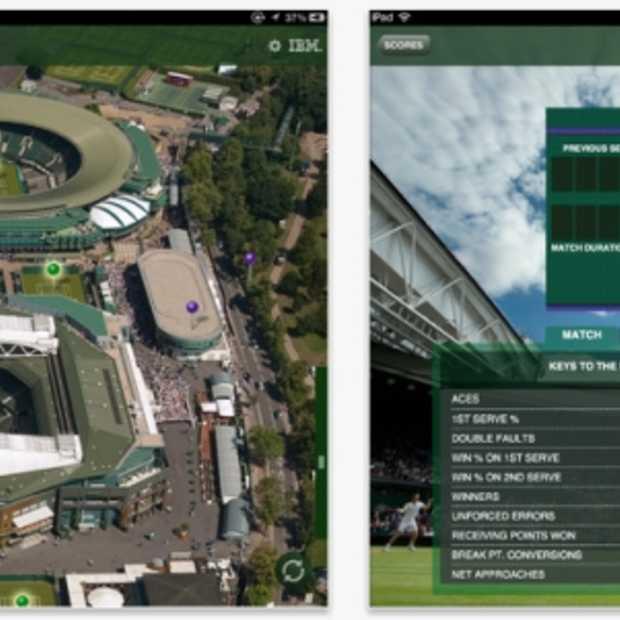 Wimbledon's allereerste iPad app bezorgt je complete 'second screening' experience