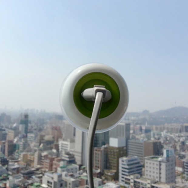 Window Socket: een stopcontact dat je op het raam plakt