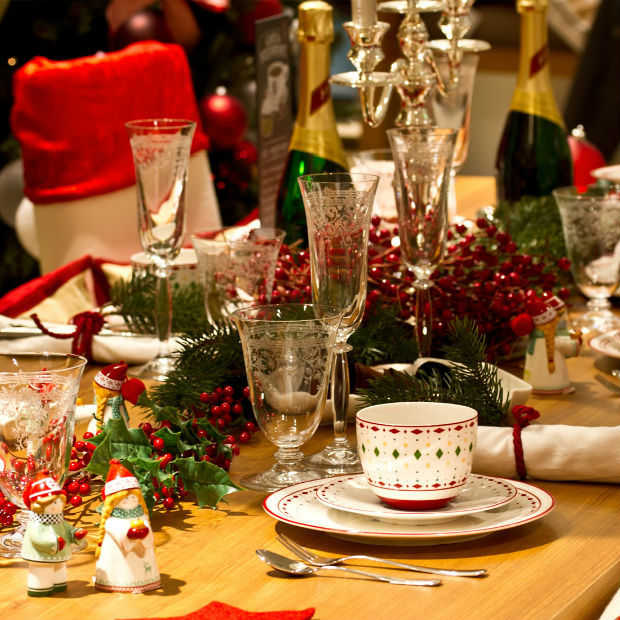 Do's en Dont's aan de kerst en nieuwjaarstafel