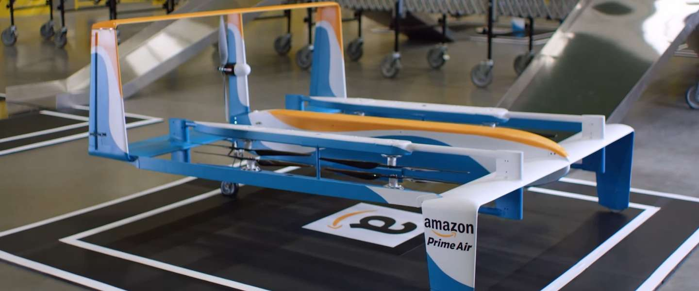 Amazon maakt werk van Drone Delivery (video)