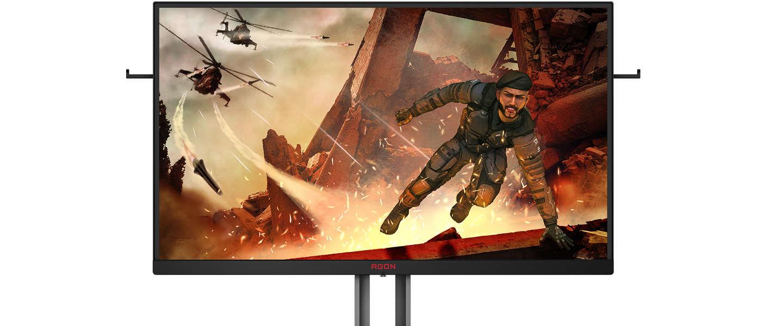 AOC kondigt de nieuwe AG273QX aan: een display op competitieniveau