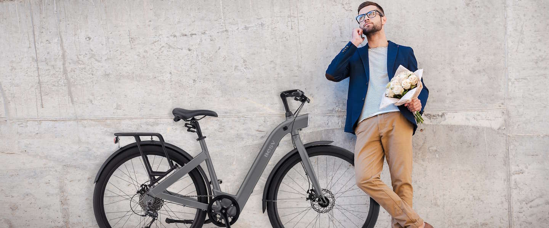 De e-bike BESV CF1 is de perfecte stadsfiets