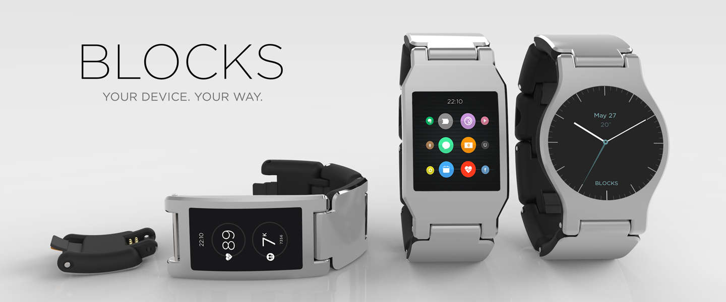 Blocks, de eerste modulaire smartwatch
