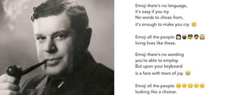 Poëzie in 2015: emoji's, flowcharts en Powerpoint