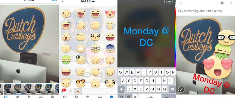 Facebook voegt Snapchat-achtige functies toe