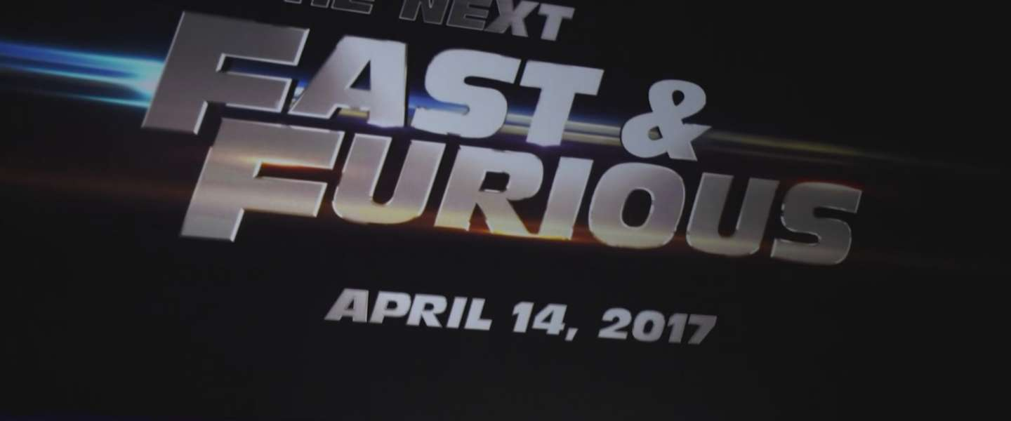Vin Diesel onthult poster 'Fast & Furious 8'