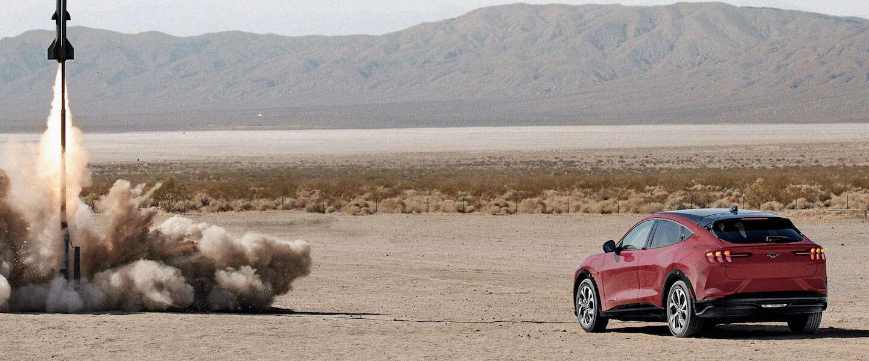 Ford Mustang Mach-E laat zien waartoe elektrische auto's in staat zijn
