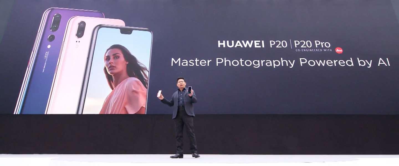 Dit zijn de Huawei P20 en P20 Pro