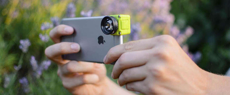 Fotograferen met je iPhone wordt met deze lens nog leuker