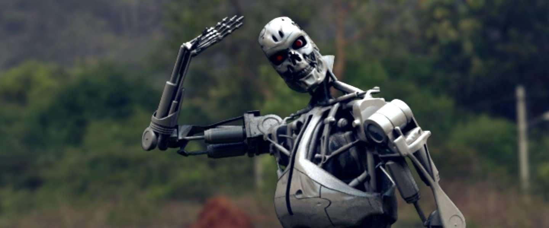 Robot doodt technicus