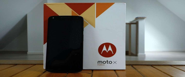 Moto X Force: smartphone met onbreekbaar scherm
