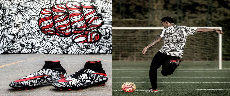Nike ontwerpt football boots geïnspireerd op Neymar Jr.'s tattoos