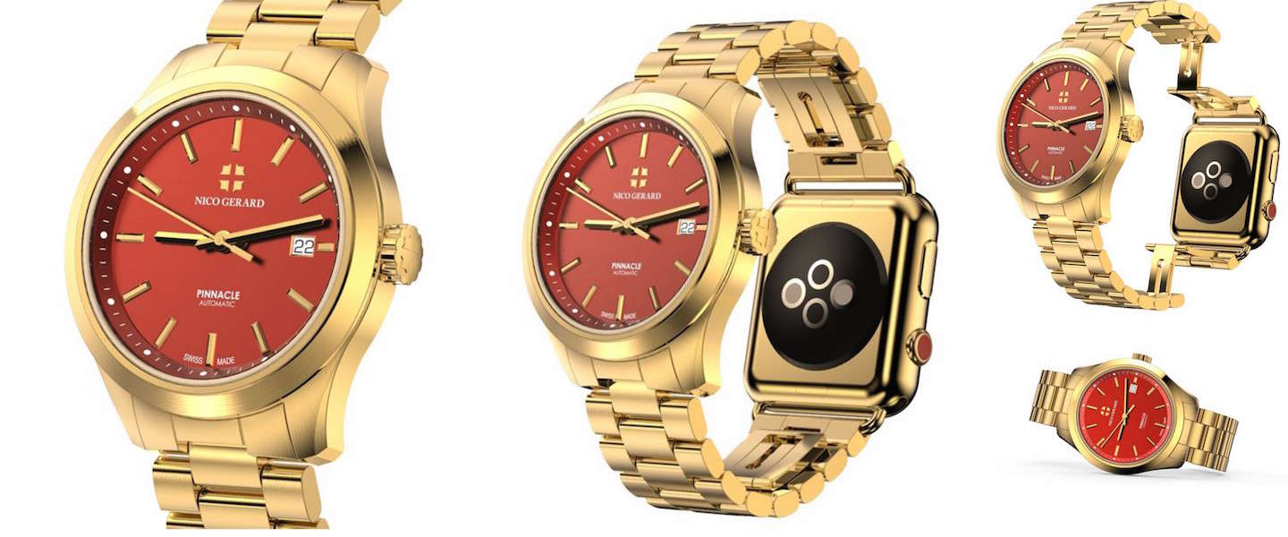 Luxe horlogefabrikant maakt hybride Apple Watch