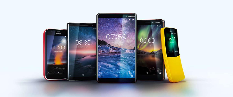 Dit zijn de nieuwe smartphones van Nokia
