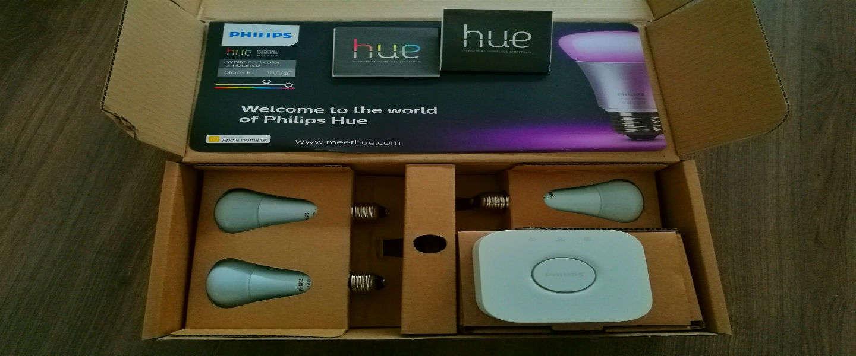 Review: Lichtschakelaars verleden tijd met Philips Hue
