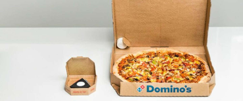 Domino's lanceert 'easy order'-knop