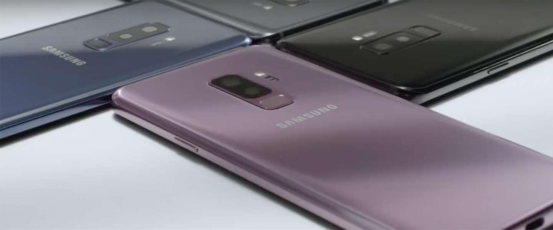 Samsung lanceert Galaxy S9 en S9+ met 'de beste smartphonecamera' ooit
