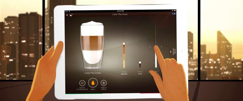 Saeco GranBaristo Avanti, altijd je eigen koffie zetten via je smartphone