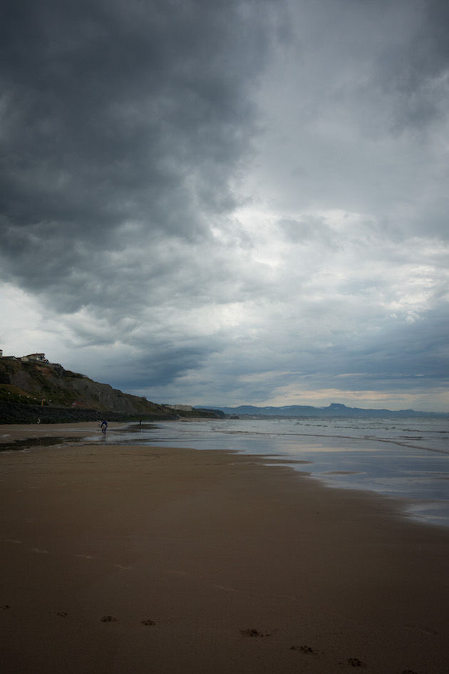 Biarritz met minder mooi weer