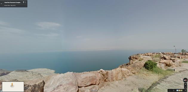 Google Street View Dode Zee
