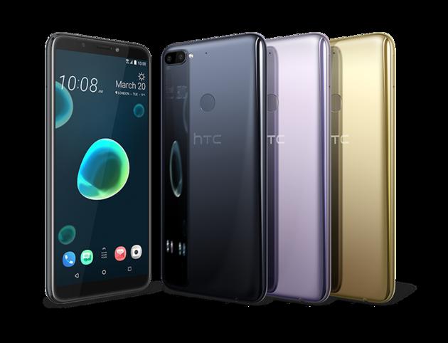 HTC D12plus