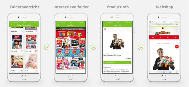 Interactieve folders
