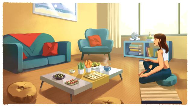 Mindfuleating and tea