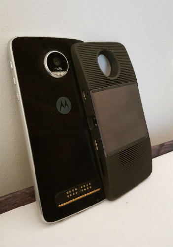 Moto Z Play Projector