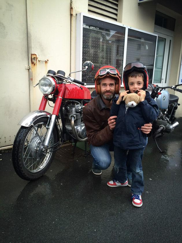 papa avec enfant