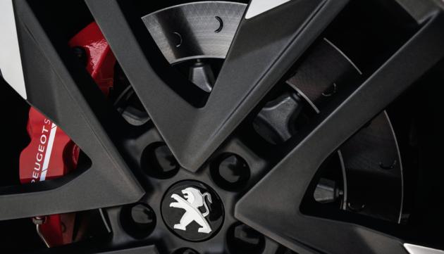 Peugeot 308 GTi wielen