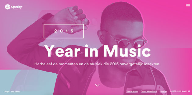 Spotify Your Year in Music 1