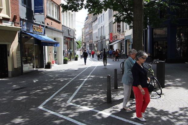 voetpaden in Antwerpen