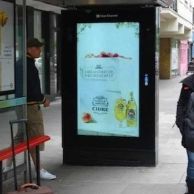 Ad van Stella Artois in het VK verschijnt in real time enkel bij warm weer