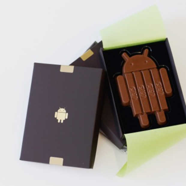 Android presenteert ... KitKat!
