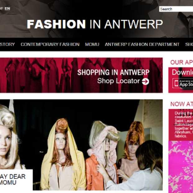 Antwerpen lanceert fashion app