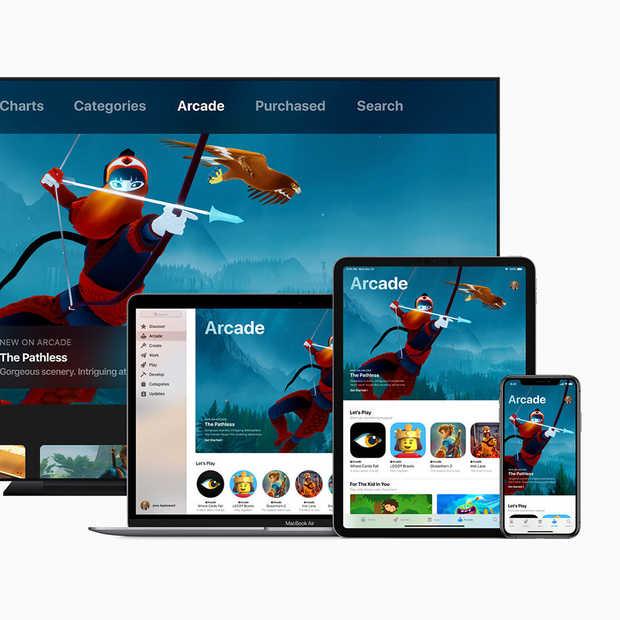 Apple Arcade is een gamingservice voor mobiele devices, desktops en tv's