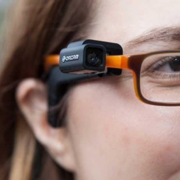 Augmented reality bril laat blinden terug 'zien'